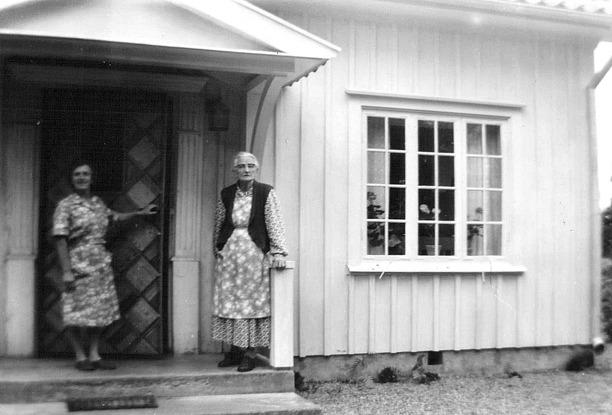Bild från Ulla Persson (Andersson som ogift), Strängnäs, 2014.