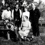 Mormor Maria Elsabeth med barnen Karl Sven Elin och Johan Eriksson