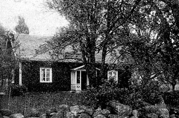 Bild från Svenska Gods och Gårdar 1942, ursprungligen från David Johansson, Slottet.