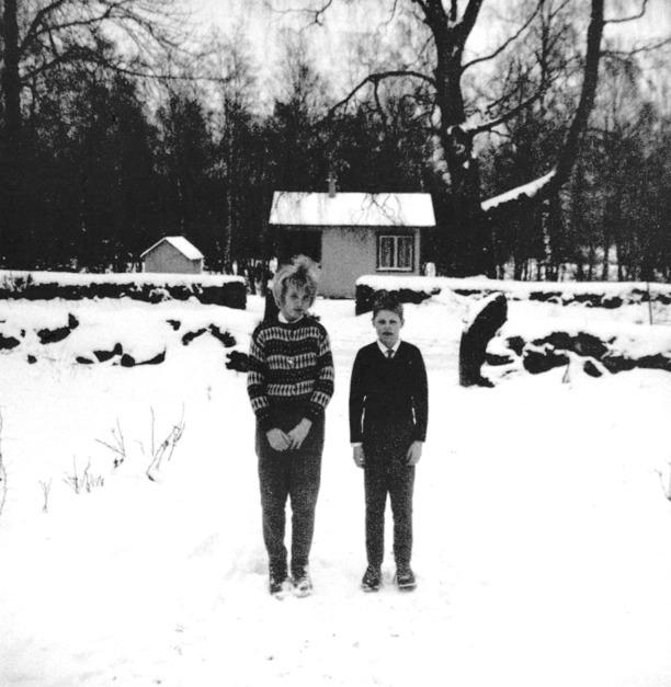 Foto ur Bo-Inges album via Ulla Andersson, gift Persson, 2014.