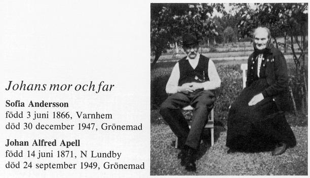 Bilder från Billingen längesen, 1991, artikel Verna Andersson