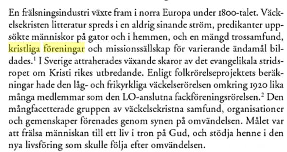 Citatet hämtat från en artikel av Elin Malmer i bok från Nordic Academic Press 2008