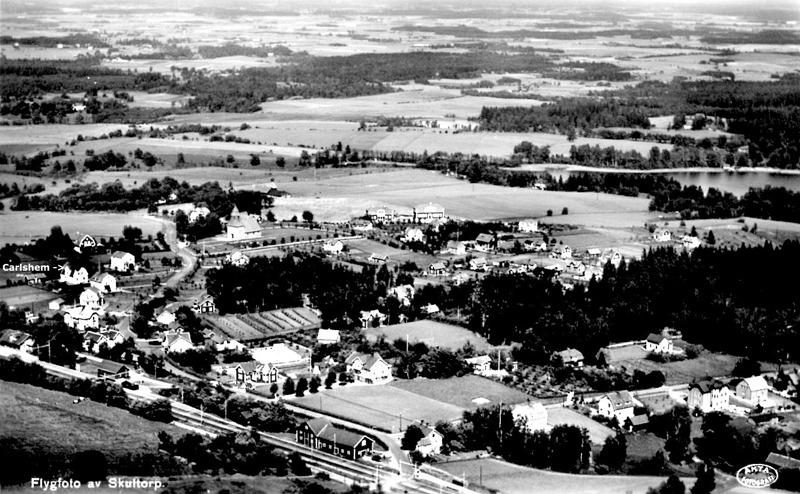 Foto av 1930-talets Skultorp