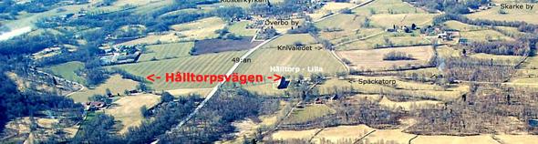 Klicka på bilden för att se den större! Flygfoto skänkt av Leif Crona, godkänt för publicering av Försvarsstaben, augusti 2014.