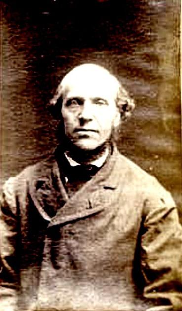 Fångfoto 1876 vid frisläppandet. Riksarkivet - frisläppta straffångar.