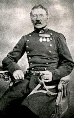 Adolf Ludvig de Maré; Bild från Regementsboken på Ängarås - genom Bengt Hofling, Ängarås, 2013