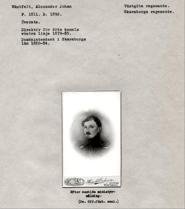 Riksarkivet; Krigsarkivets porträttssamling.