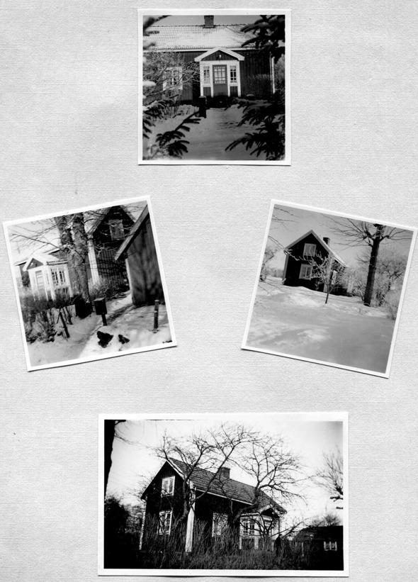 Bilder från familjens album via Kjell Håkan Johansson, Skarpenstorp, Ljungstorp, 2015