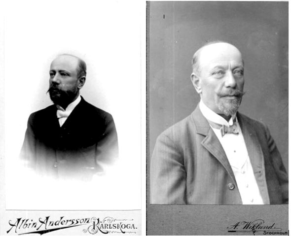 Johan/Johannes Kullberg i mer mogen ålder. Bilder från Birgit Larsson, Skövde 2015