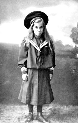 Irma Högberg - bild från fam. Pettersson, Trollehöjd, 2014