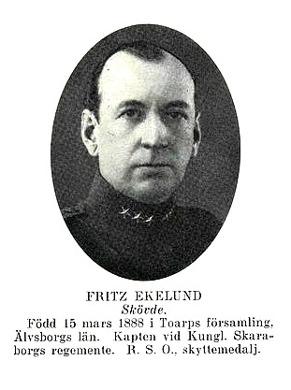Paret Fritz och Herta gifte sig 30/5 1916