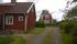 Gamla huset norra gaveln - Trollehöjds röda hus