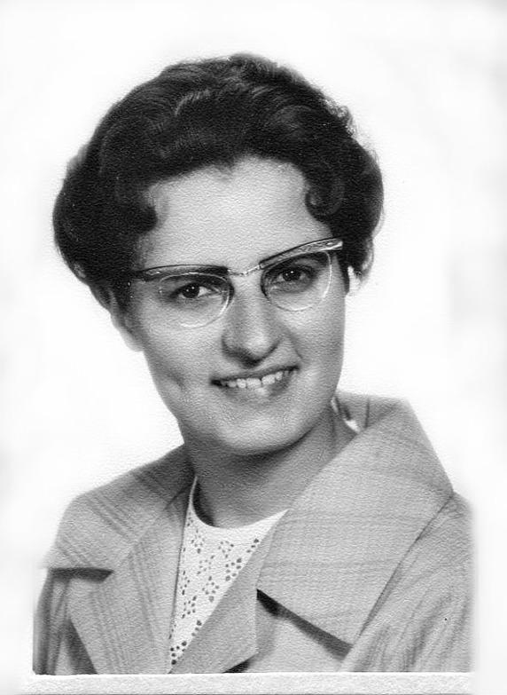 Birgit Larsson, 1962 - bild från Birgit Larsson, Skövde, 2016