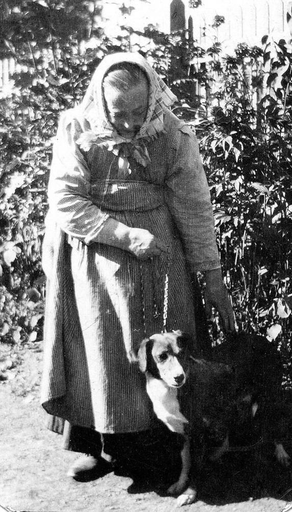 Carolina Lindstrand, född Norén - foto från Maria Lindstrand barnbarnsbarn till Johannes och Carolina