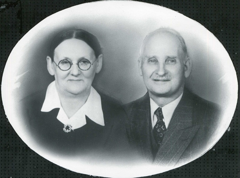 Mormor Selma Charlotta & morfar Albin Göthberg