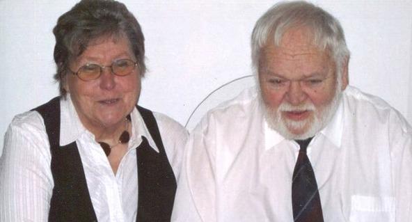Gun & Kurt Främst, 50-årig bröllopsdag 2011-02-11. Foto Gun Främst 2016