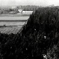 Sandbäcken från Billingen med Annelund i bakgrunden