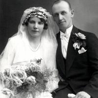 Gerda o Sven Johansson Linneas syster