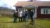Projektgruppen med ägarna - Verna, Arne, Barbro och Roland samt Esa