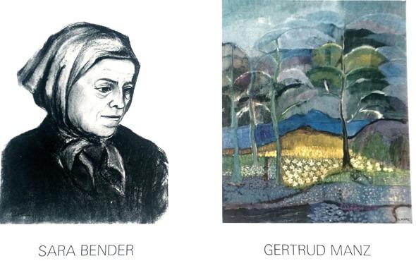 Utställningsfolder från galleri Sagé 2016