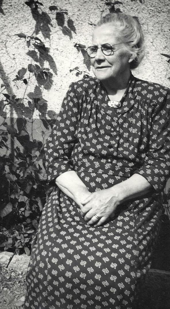 Anna Charlotta Krantz - foto från dotterdottern; Anna-Britta Davidsson, Skövde, 2016