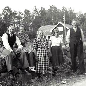 Yngve och Ester Andersson, Anna Krantz, Annas syster Gerda, The