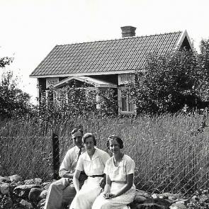 Yngve och Ester Andersson, Esters syster Gerda