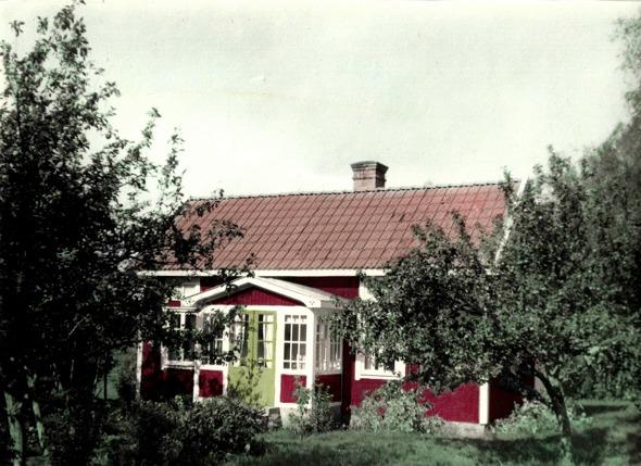 Björkelund 1940-tal - foto från dotterdottern till Theodor och Anna; Anna-Britta Davidsson, Skövde, 2016