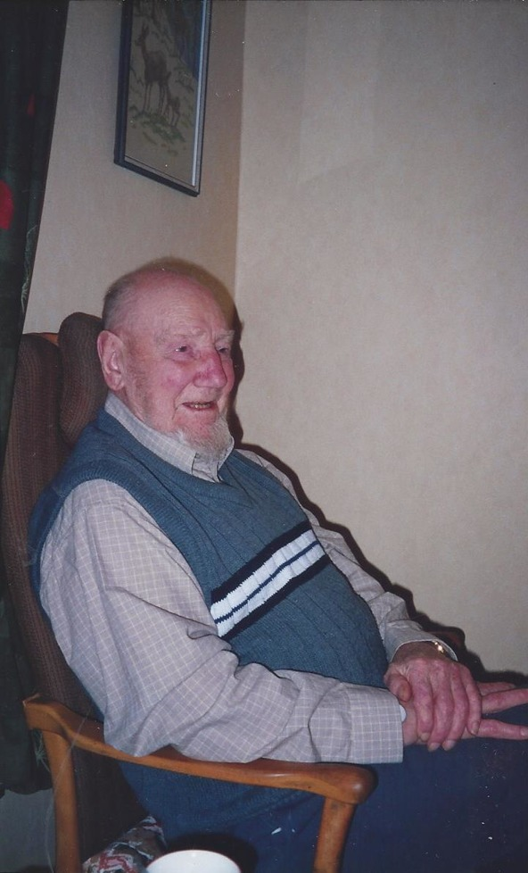 Magnus  Sträng, 2001, Värsås äldreboende - foto Verna Andersson, Ljungstorp