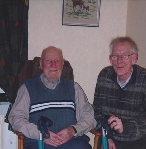 Magnus Sträng och Arne Sträng, Värsås äldreboende 2001 - foto Verna Andersson, Ljungstorp