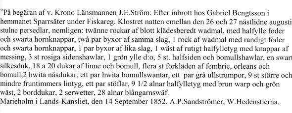Ur Varnhemsbygden 2011 - artikel av Verna Andersson & Arne Sträng