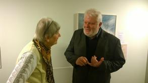 Gertrud och Kent Friman i samspråk