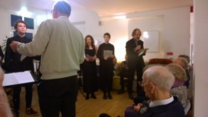 Skådespelaren Gunnar Berggren läser Rilke-poesi