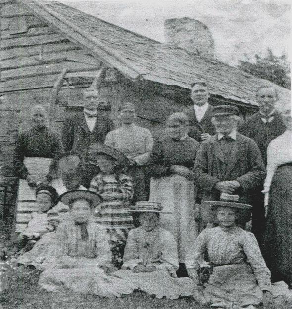 Bilden från kopiering av foto i Verna Anderssons samling, Ljungstorp, 2016