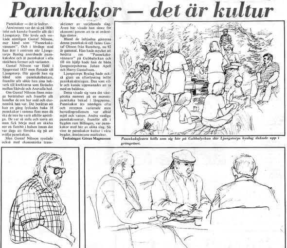 Urklipp ur Verna Andersson samling, Ljungstorp, 2016 - klicka på klippet för att kunna läsa!