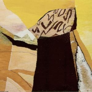 Komposition, 2009, 94 x 74 cm