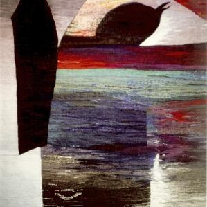 Vilande landskap, 1995, 100 x 135 cm