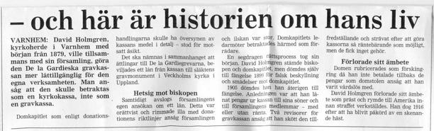 Artikeln tillhör Skaraborgs Läns Tidning och visas med tillstånd av dem!