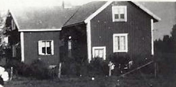 Foto från Barbro Andersson, dottern i familjen Karl August och Hildur Andersson, 2016