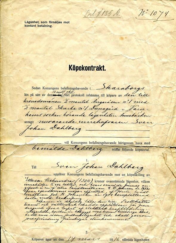 Dokument från familjen Stern, Ännebäcken, 2017
