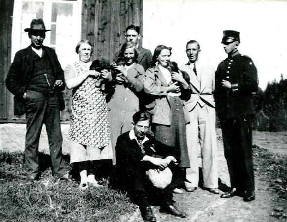 Fotot taget innan flytt 1935. Foto via Arne Sträng, 2017