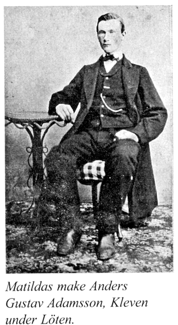 Bild ur Billingen längesen Nr 4, foto troligen samma tid som nedan - 1880-tal