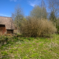 gräsnen mellan Lövstad och Fogdetorpet stensatt
