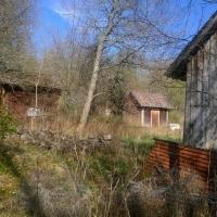 vy mot Lövstad/Lövvik från Fogdetorpets ladugård