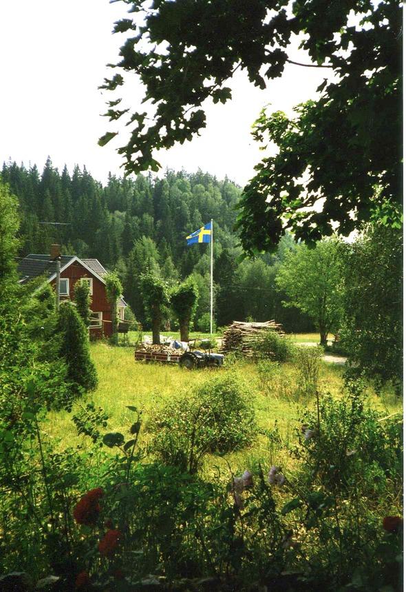 Foto från familjen Wikström, Strömstugan, Ljungstorp, 2017