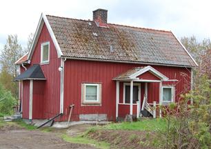 Djäknekrogen 2000-tal.  Inom ramen för detta förändrade hus finns det gamla timmerhuset från tiden för Gustafssons. Foto Mats Green, 2017