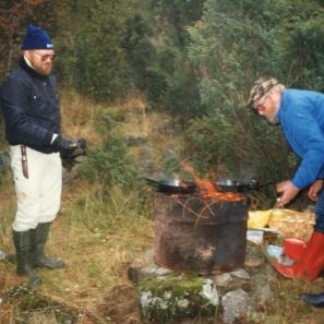 Pannekakefesten 1986 Folke, Egon Holm o Alf Brage
