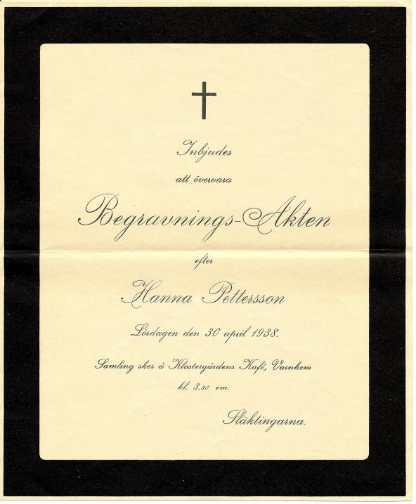Dokument från Christer Jonssons samiling, Blomberg, Varnhem