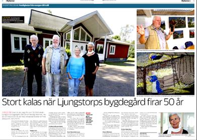 Urklippet visas med tillstånd från SLA, journalist Anna Warner och fotograf Rikard Jansson
