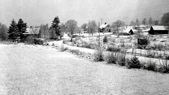 Kleven under Grufvesäter 1930-tal. Bild från Verna Andersson.